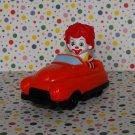 McDonald's Ronald McDonald Red Car Under 3 Happy Meal Toy