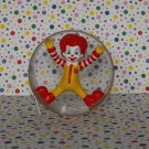 McDonald's Ronald McDonald Cartwheel Ronald Under 3 Happy Meal Toy