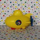 McDonald's Ronald McDonald Yellow Submarine Ronald Under 3 Happy Meal Toy