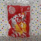 McDonald's Ty Beanie Bear Ronald Bear Happy Meal Toy