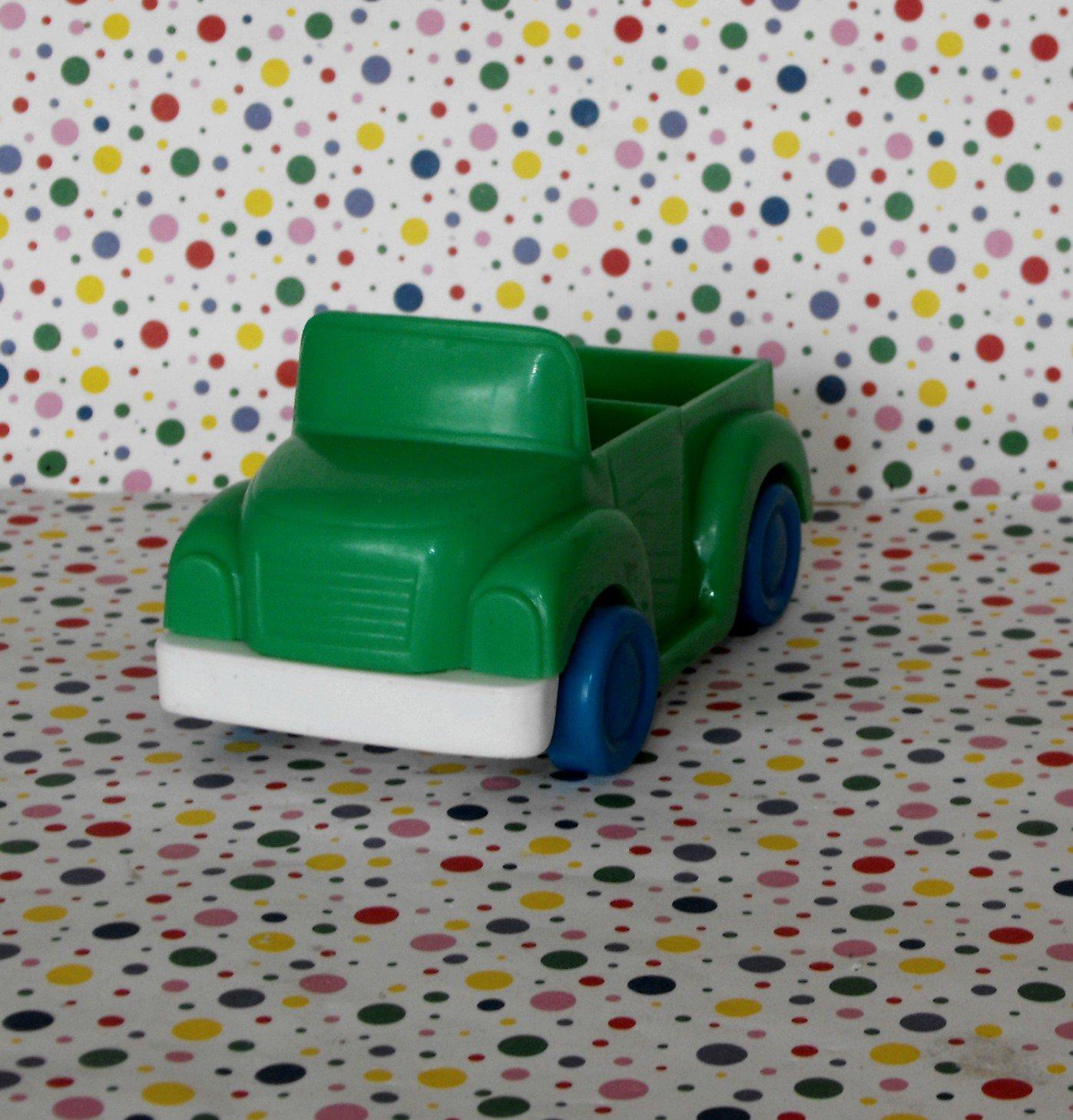 Illco Muppets Sesame Street Car Wash Green Truck Part