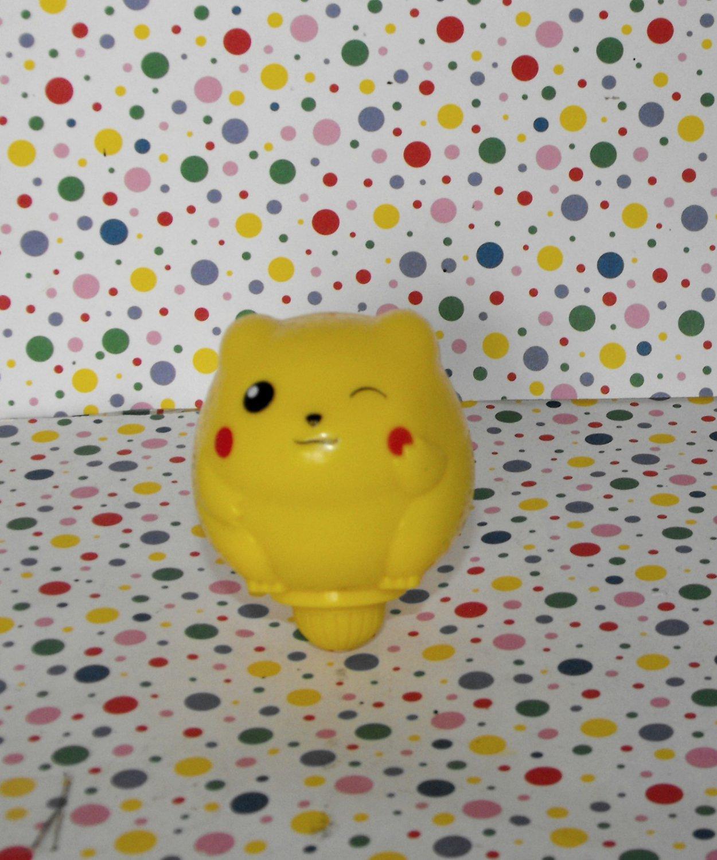 Pokemon Pikachu Battle Tops Kellogg's Collectible Top Toy Nintendo