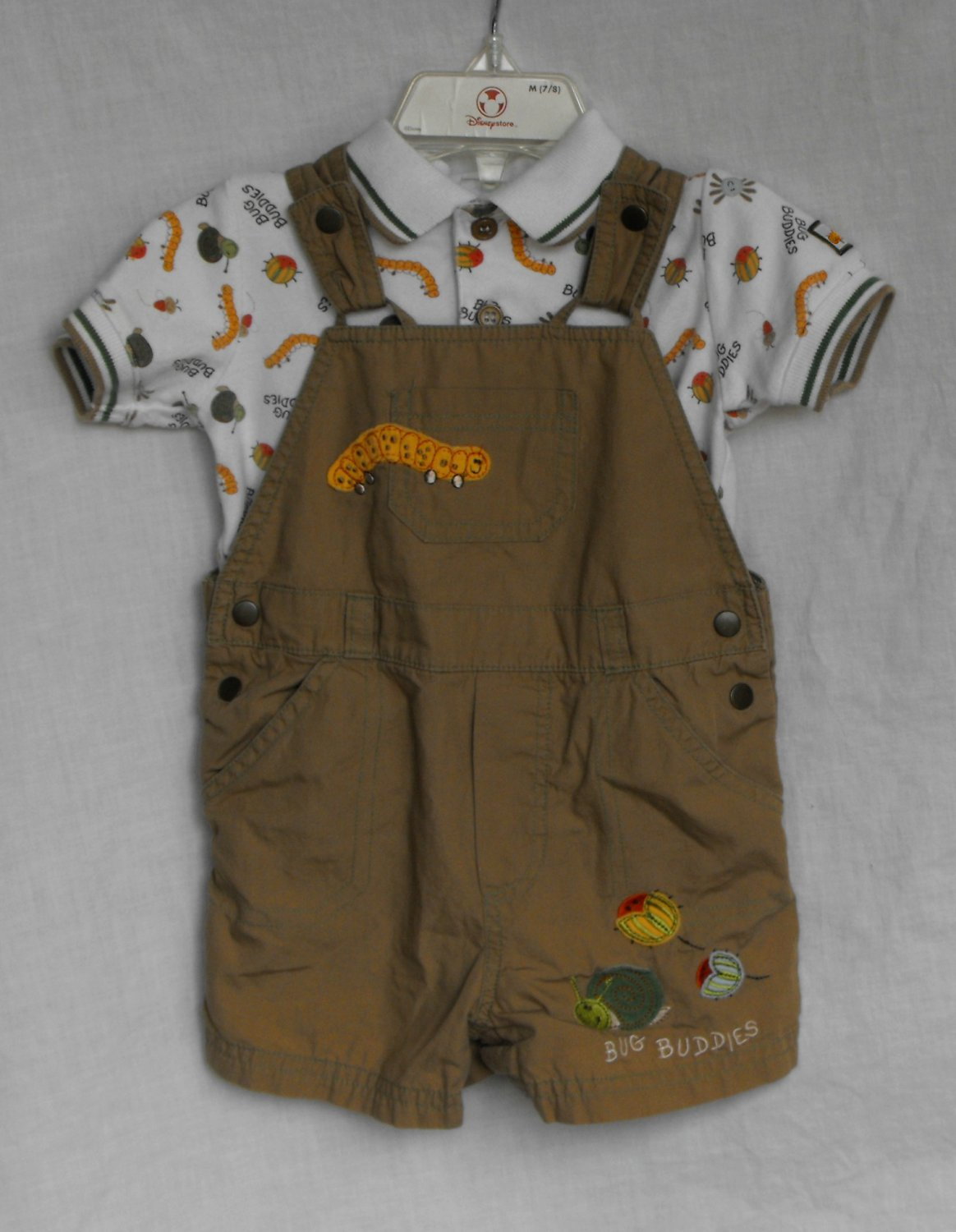 Koala Baby Boys 12 month Overall Shorts Outfit