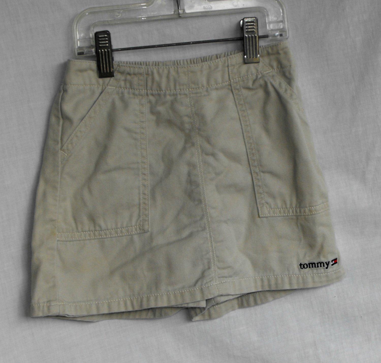 Tommy Hilfiger Girls Khaki Skort Size 6