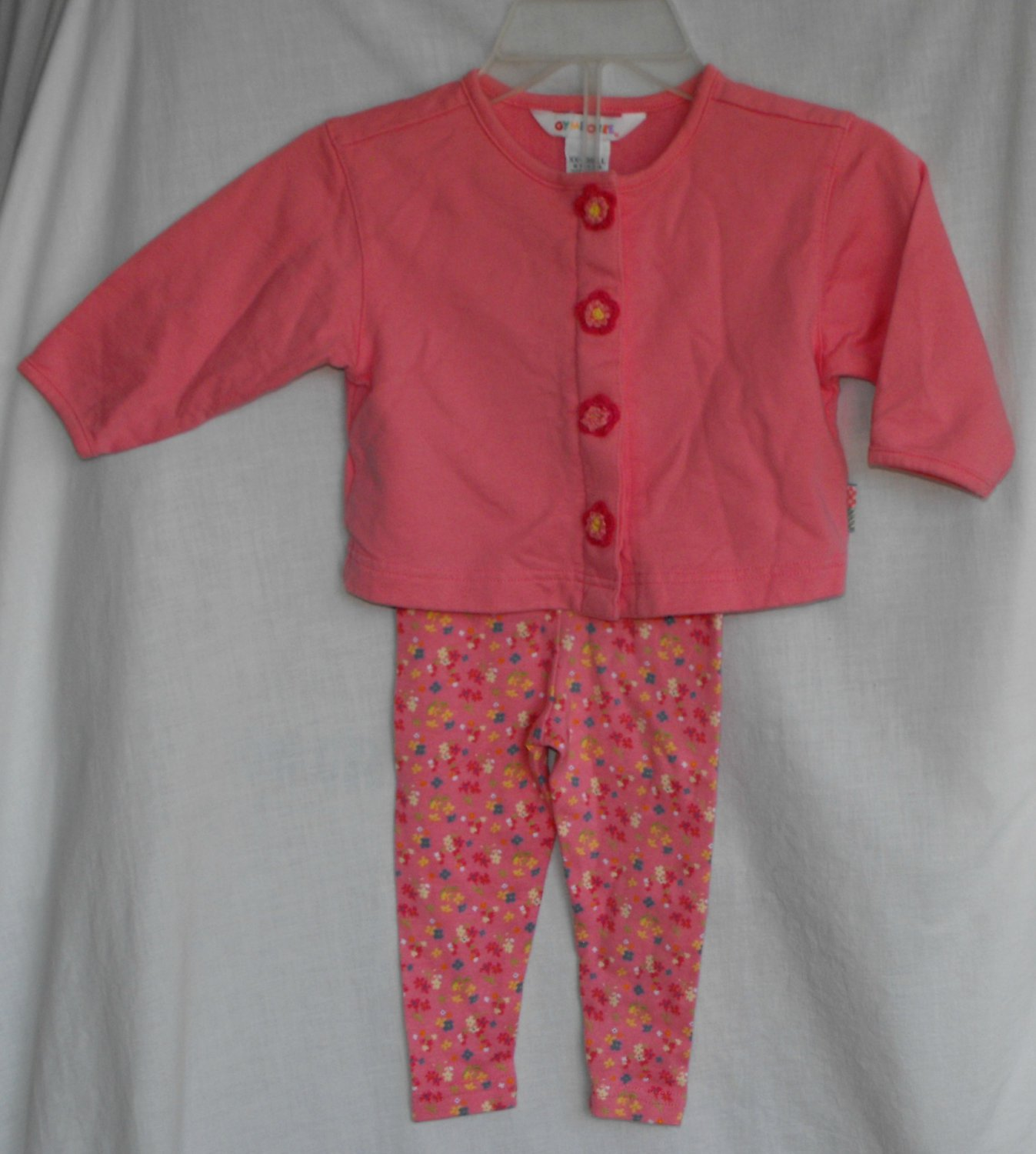 Gymboree Cardigan and Leggings Blooms Baby Girl Outfit 12 18 Months