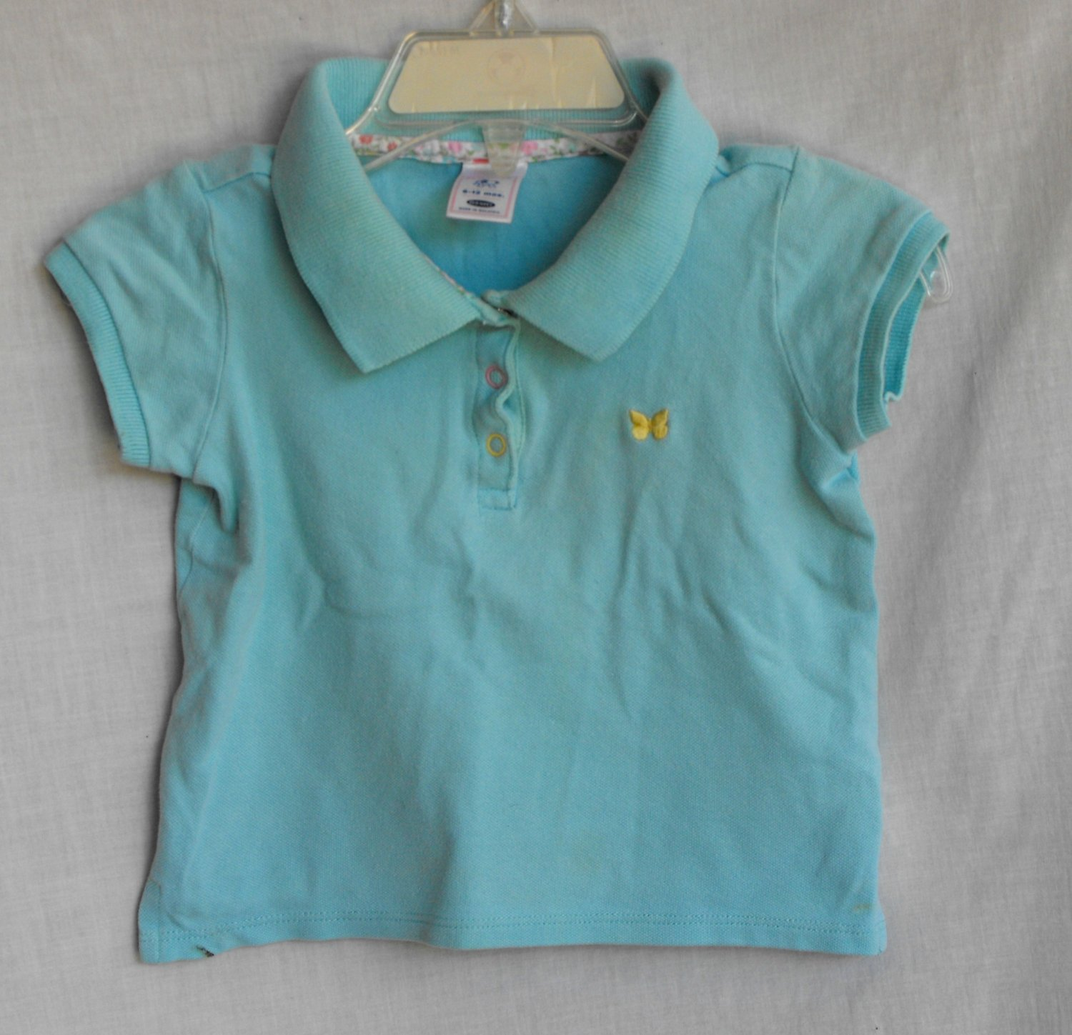 Old Navy Baby Girl 6-12 Months Polo Shirt