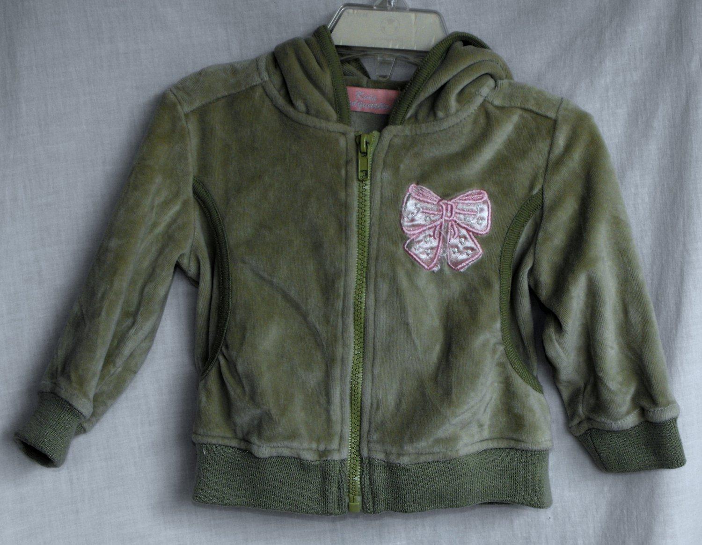 Kids Headquarter's Girls 18 Months Light Green Jacket