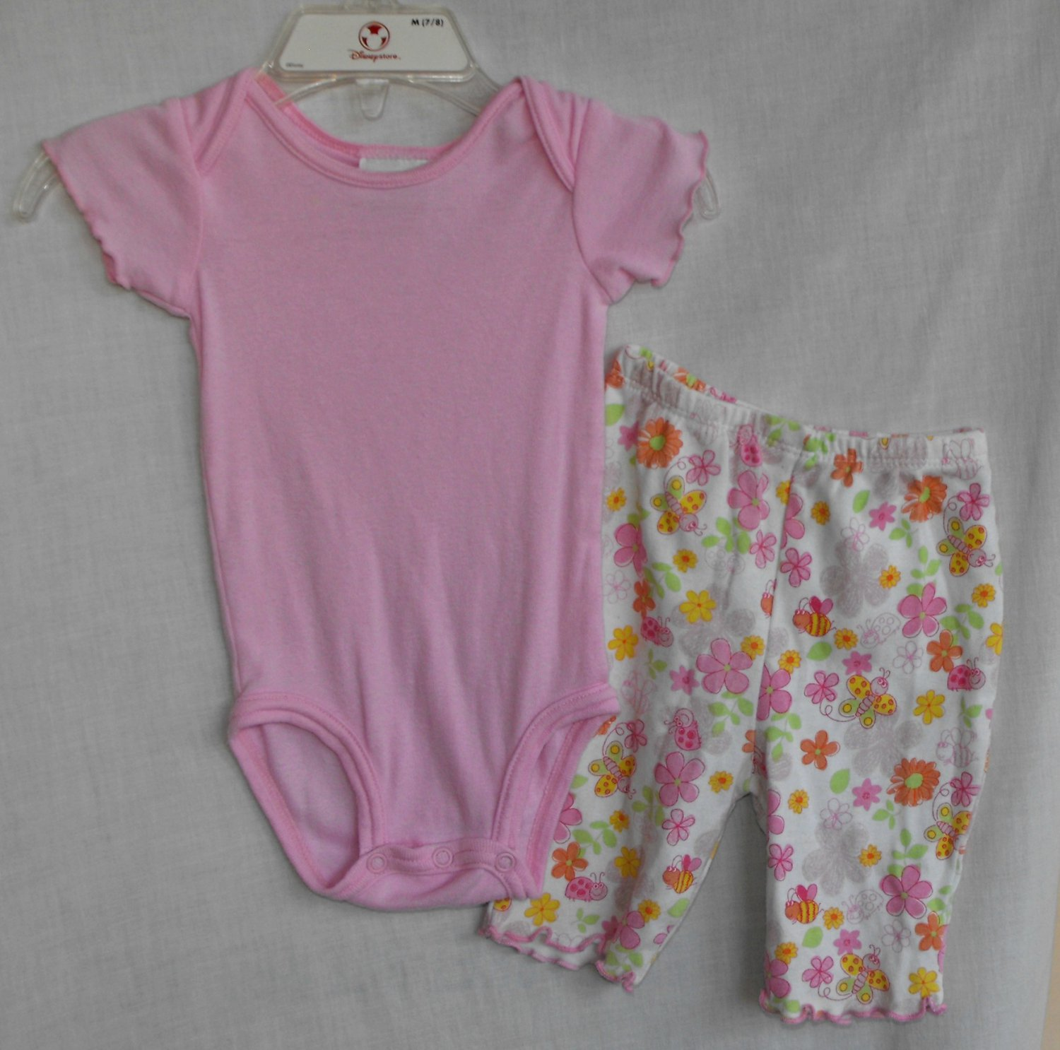 Carter's Pink Onesie Circo Pants Outfit Baby Girl 0 3 Months
