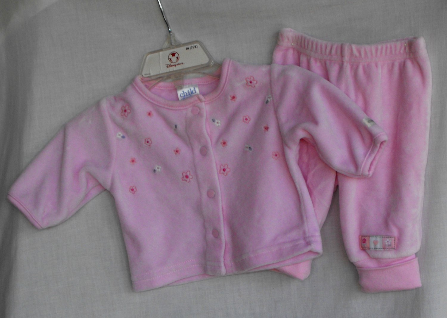Carter's Baby Girl 2 Peice Outfit NB