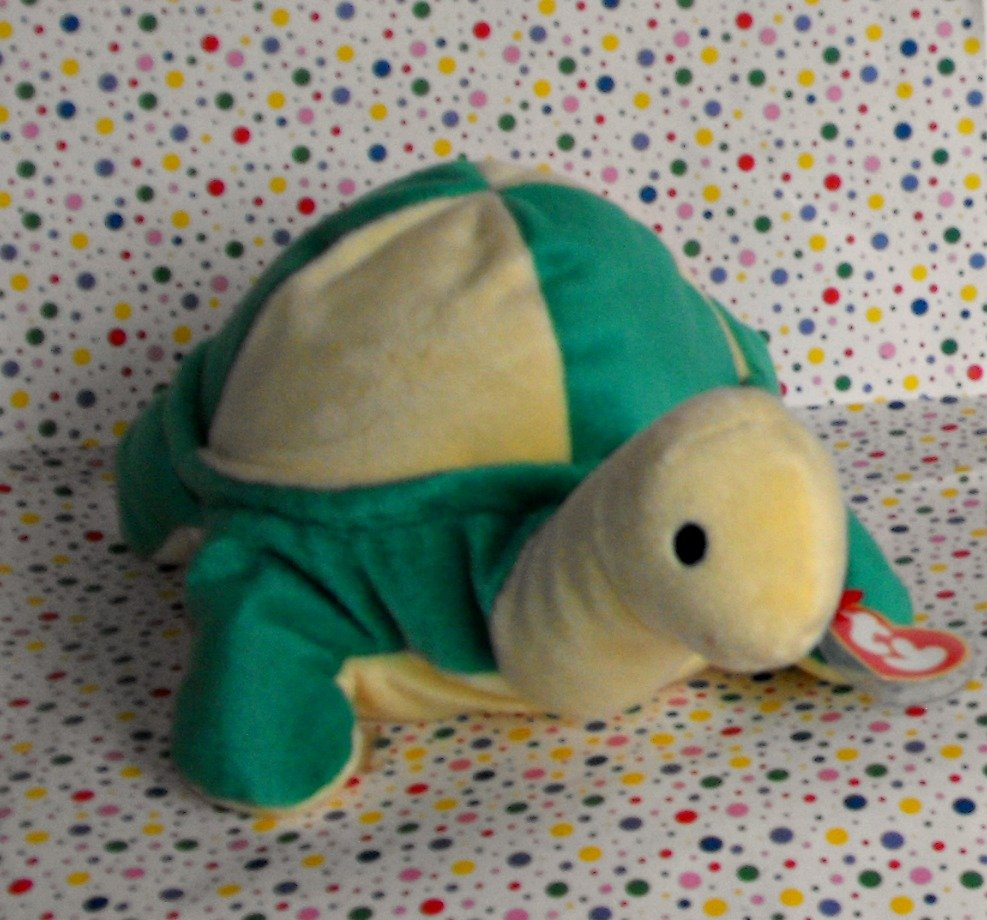 """Ty Beanie Large Pillow Pal """"Snap"""" the Turtle"""
