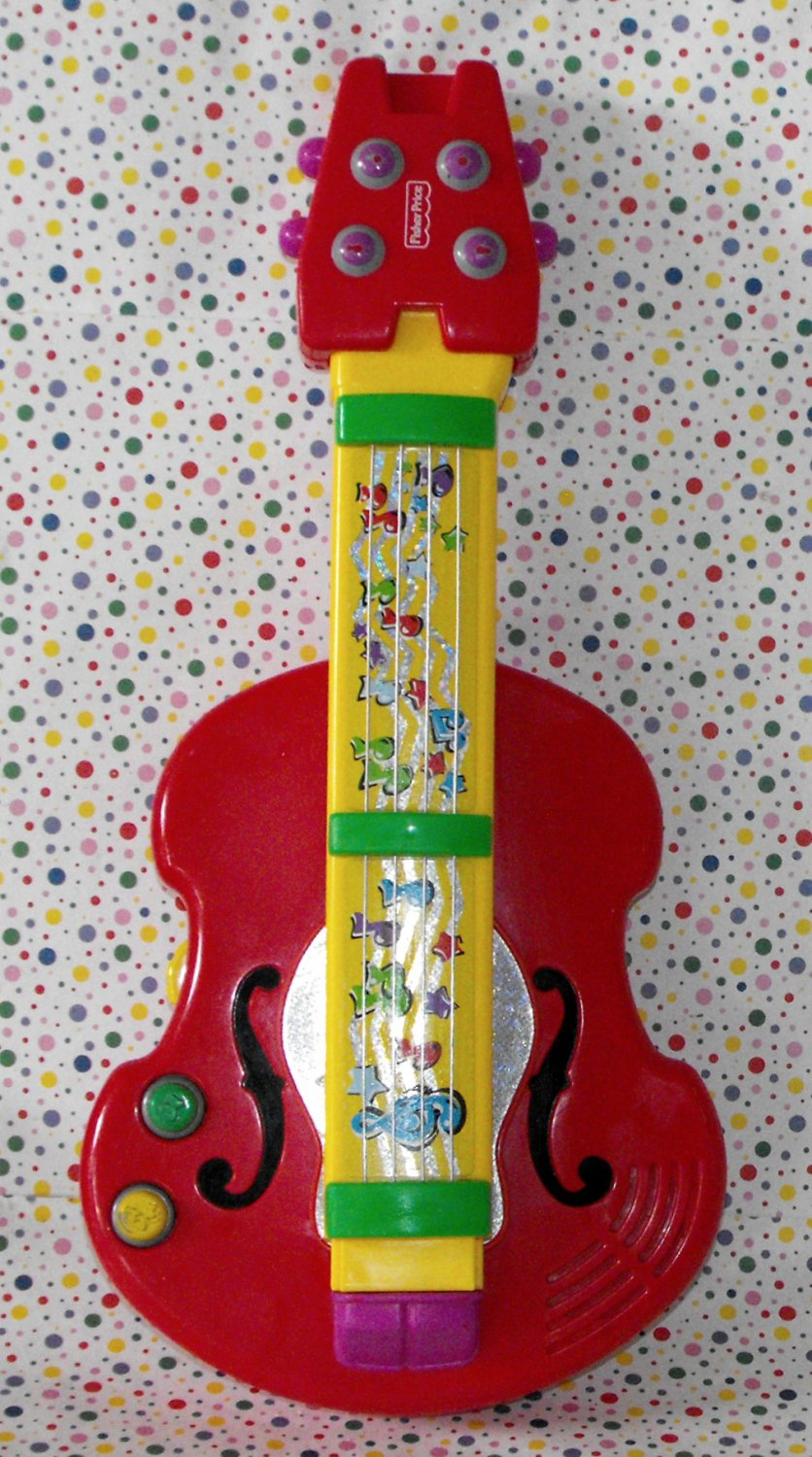 Fisher Price 2-in-1 Bach 'n Rock Guitar
