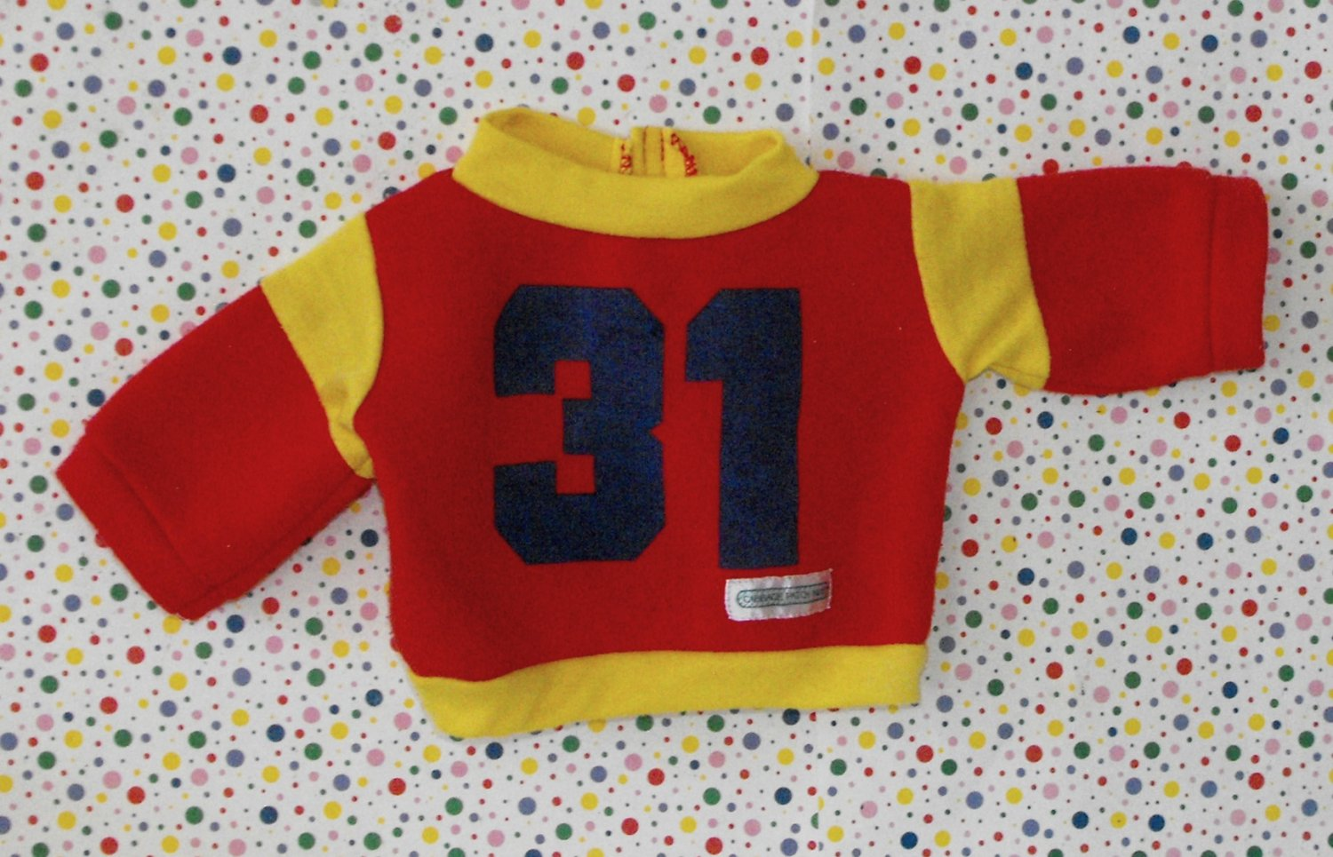 Vintage Cabbage Patch Kids Boy Jersey Shirt Top Clothes
