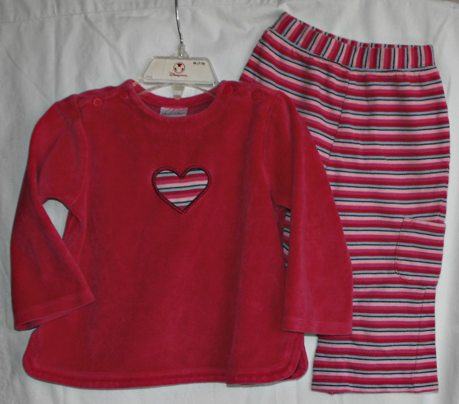 Health Tex Baby Girl 24 month pants 2 peice outfit