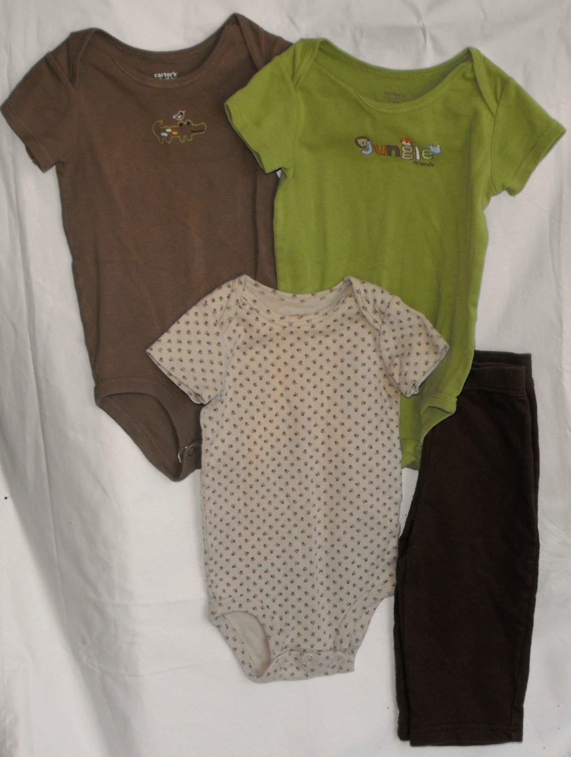 Carter's Baby Boys 9 month 2-peice Outfits Bodysuit & Pants