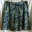 Villager by Liz Claiborne Floral Skirt Women's 16