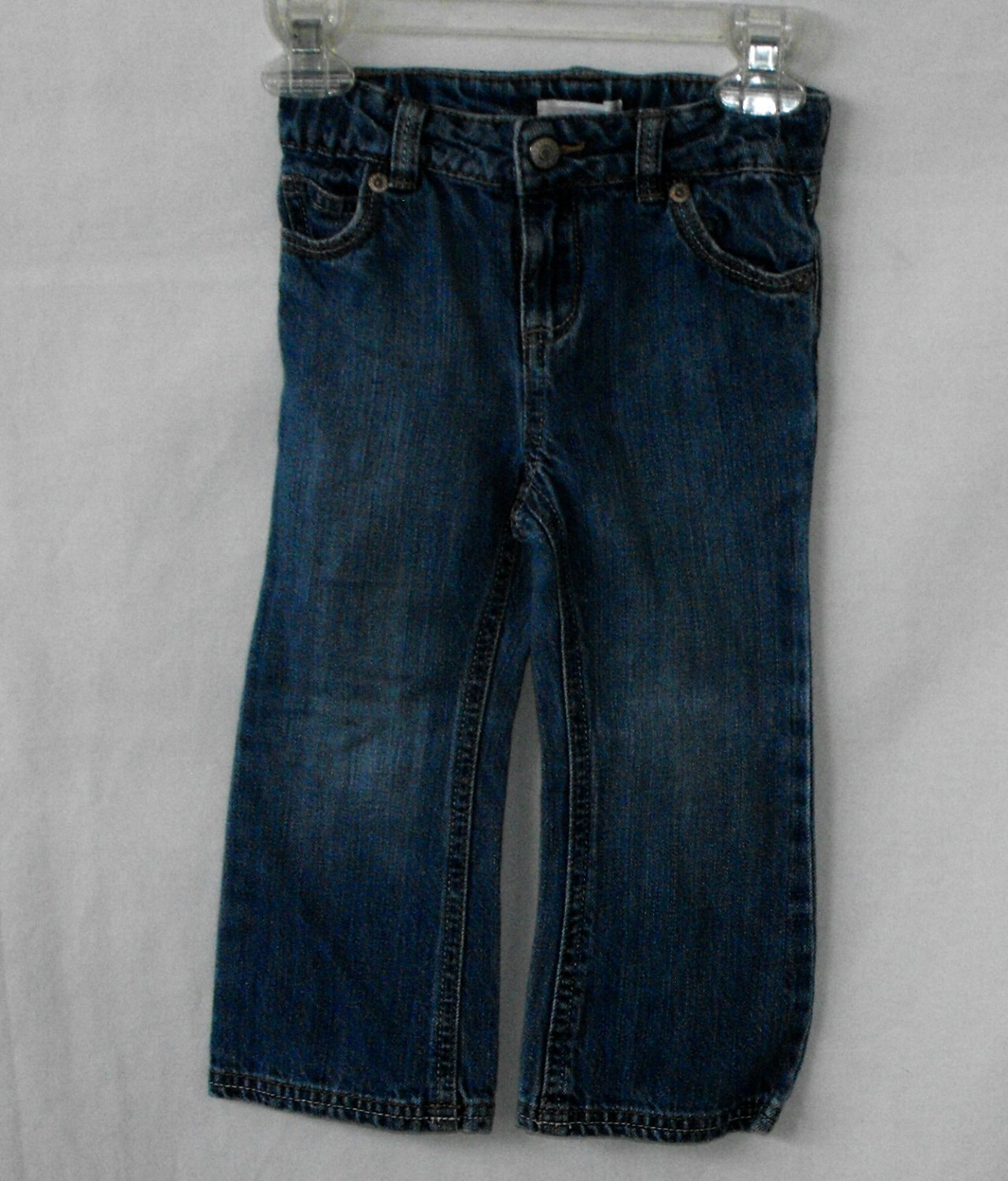 Old Navy Baby Girl 2T Jeans Bootcut Dark Wash