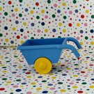Lego Duplo  Blue Wheelbarrow