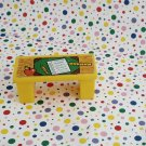 Vintage Fisher Price Little People School Teacher's Desk #923
