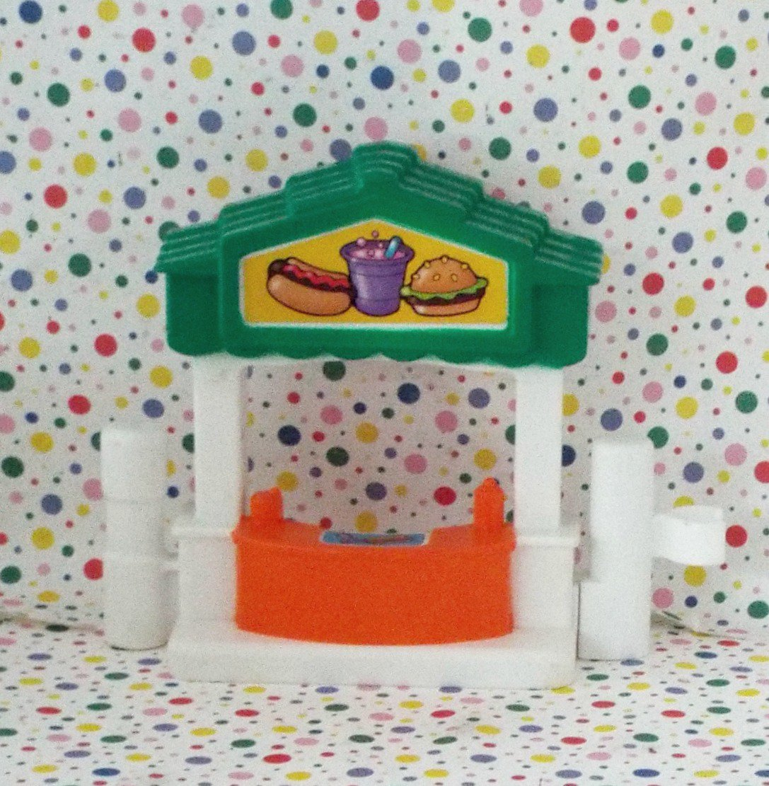 Fisher Price Little People Discovery City Hamburger Stand