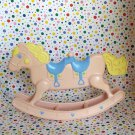 Barbie Heart Family Twin Rocking Horse Ride Dollhouse Furniture