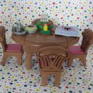 Fisher Price Loving Family Dollhouse Musical Special Occasions Dining Room
