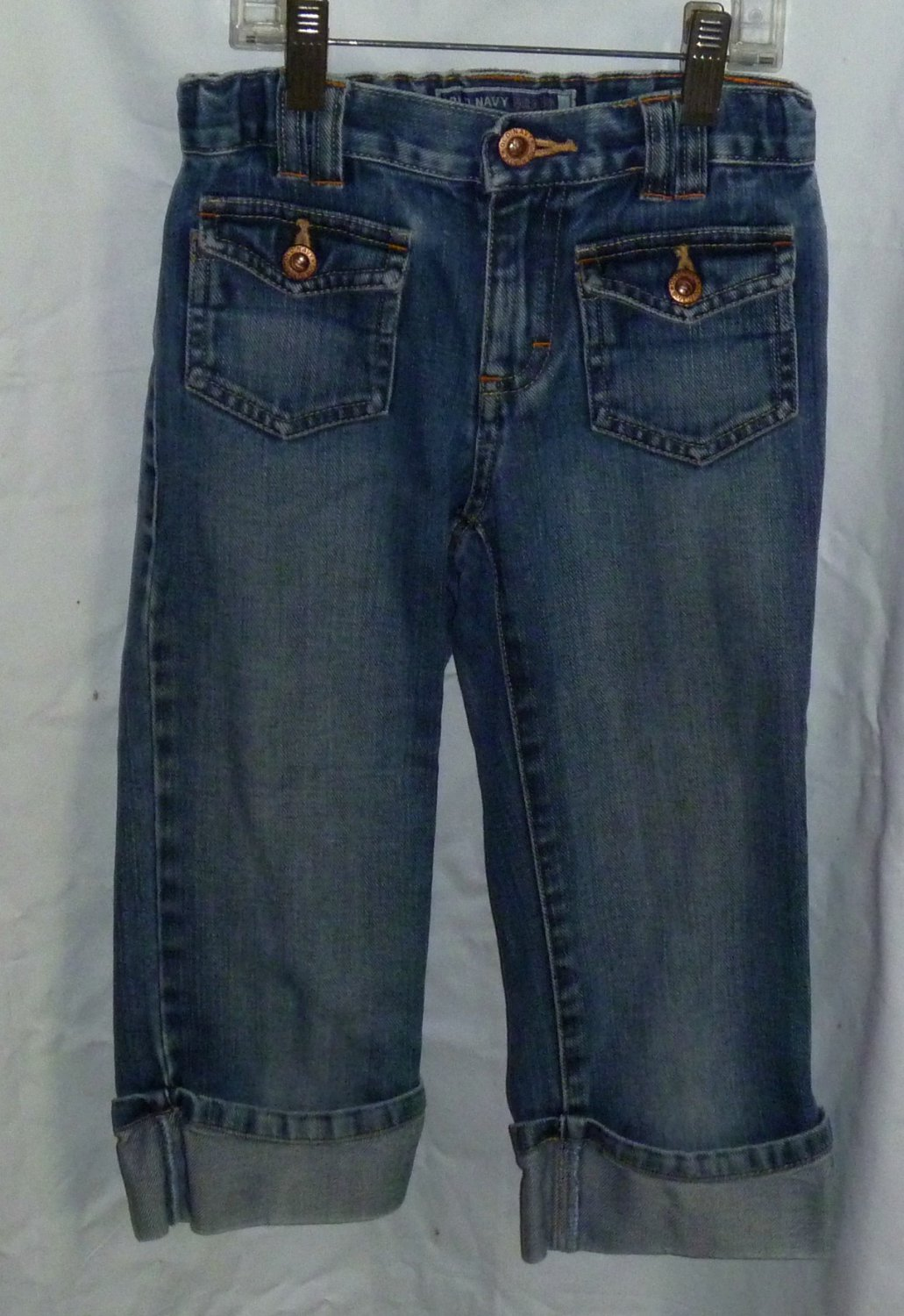 Girls Old Navy Cropped Capri size 7 slim