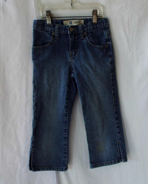Gap Girls Size 7 Slim Jean Capri