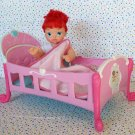 Disney Playmates Little Mermaid Ariel Doll with Crib