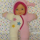 Pink and White City Toy Lullaby Light Up Musical Doll