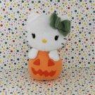 Hello Kitty Halloween Orange Pumpkin Jack O' Lantern Beanie Plush