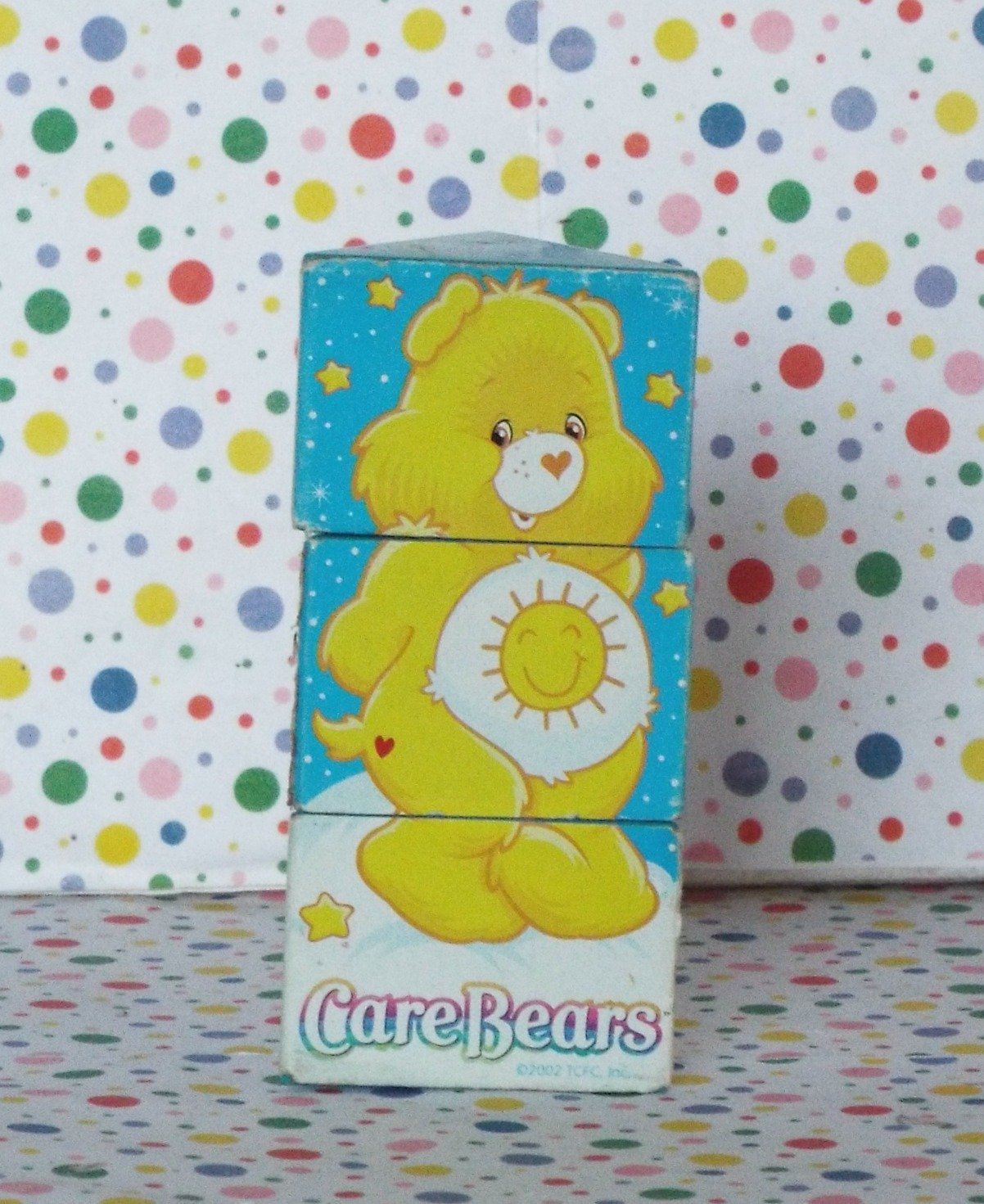 Care Bear Spinning Triangle Cube Collectible