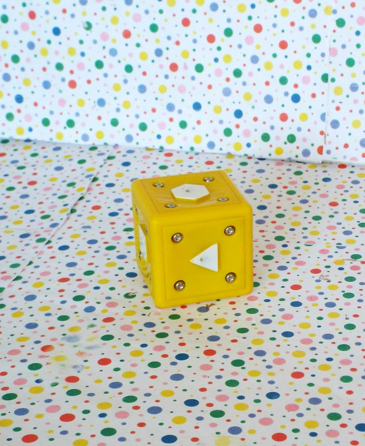 Neurosmith Music System Learning Toy Replacement Yellow Block Part