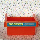 Little Tikes Work Shop Tool Bench Drawers Screws Red Replacement Tool Bins