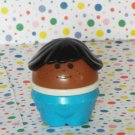 Little Tikes Toddle Tots People AA Brown Hair Girl Mom  Figure