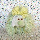 Disney Fluppy Dogs Yellow, White, Green Yarn Hair