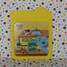 Fisher-Price Blues Clues Learning Lessons Computer Yellow Card Part