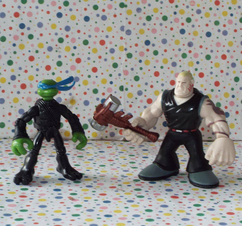 Teenage Mutant Ninja Turtles Mini Mutants Leonardo vs. Hun