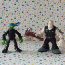 Teenage Mutant Ninja Turtles Mini Mutants Leonardo vs. Hun