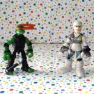 Teenage Mutant Ninja Turtles Mini Mutants Michelangelo vs Rat King