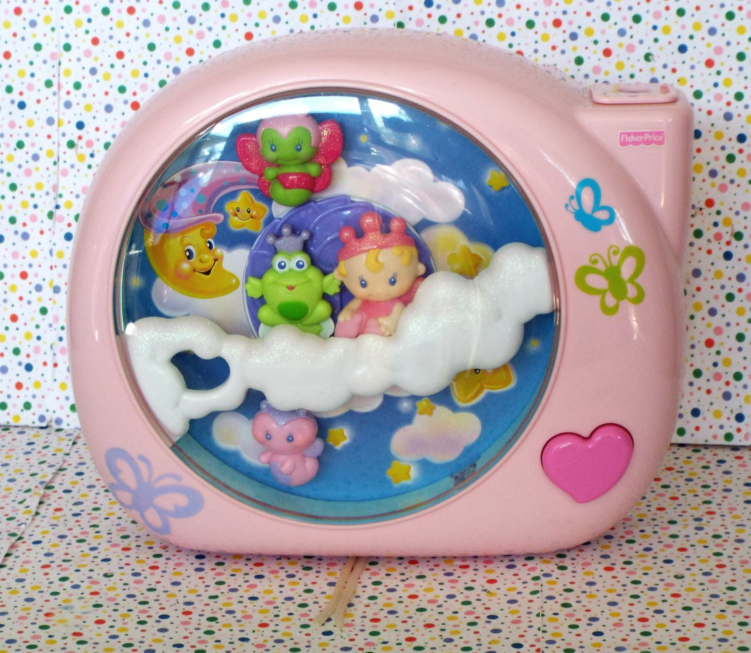 7 14 Sold Fisher Price Perfectly Pink Dreamland Crib