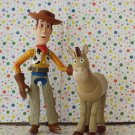 Disney's Toy Story Bendable Woody and Bullseye Figures Lot