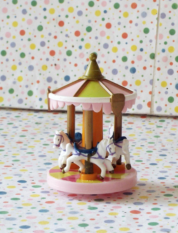 Disney World Magic Kingdom Castle Horse Carousel Part