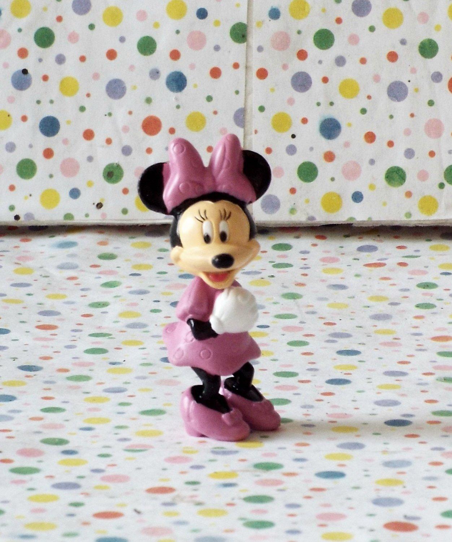 Disney Minnie Mouse Pink Dress Figure