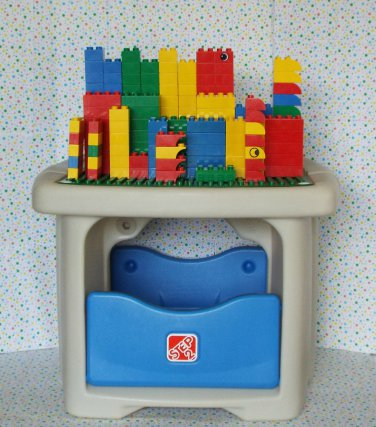 Step 2 Lego Duplo Table With Storage