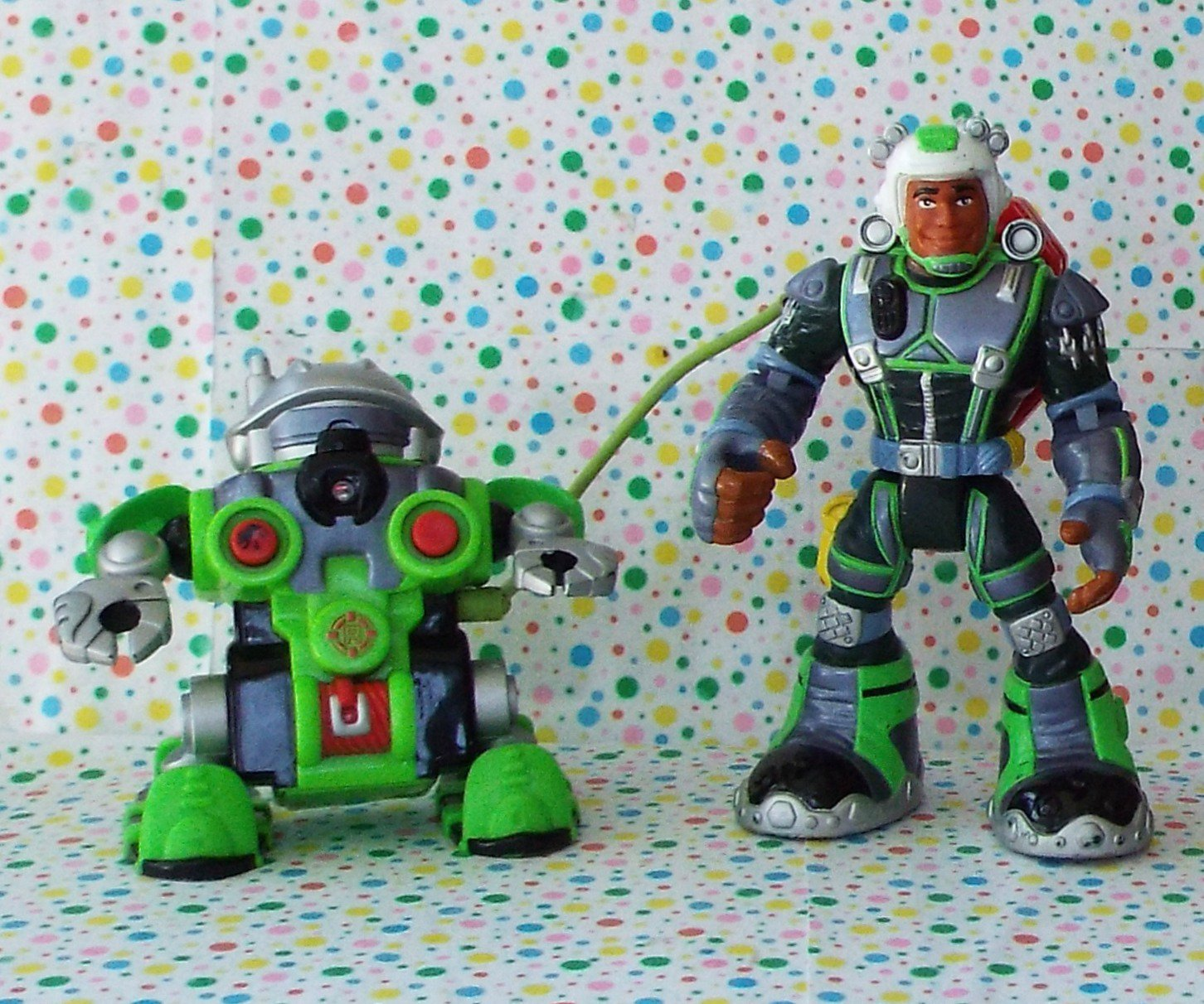 Fisher Price Rescue Heroes Rocky Canyon and  Tectonic