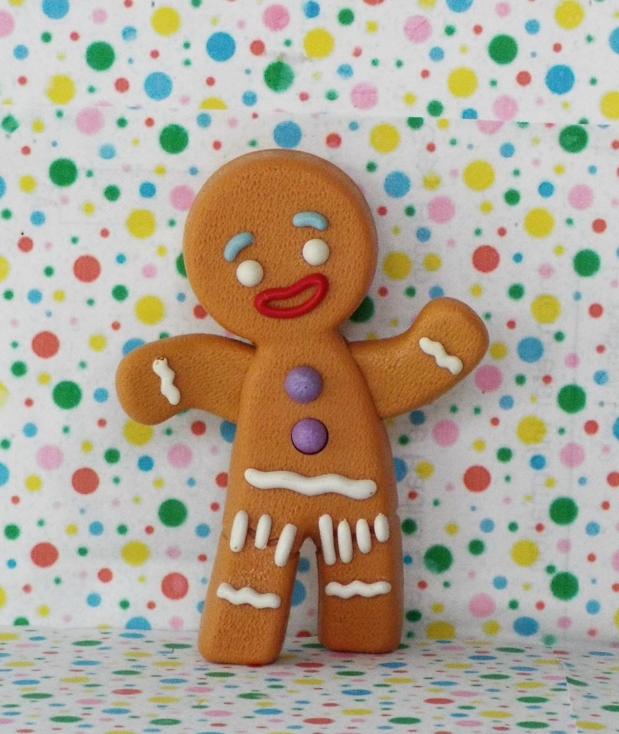*12/14*SOLD~McDonalds Shrek the Movie Talking Gingy Figure