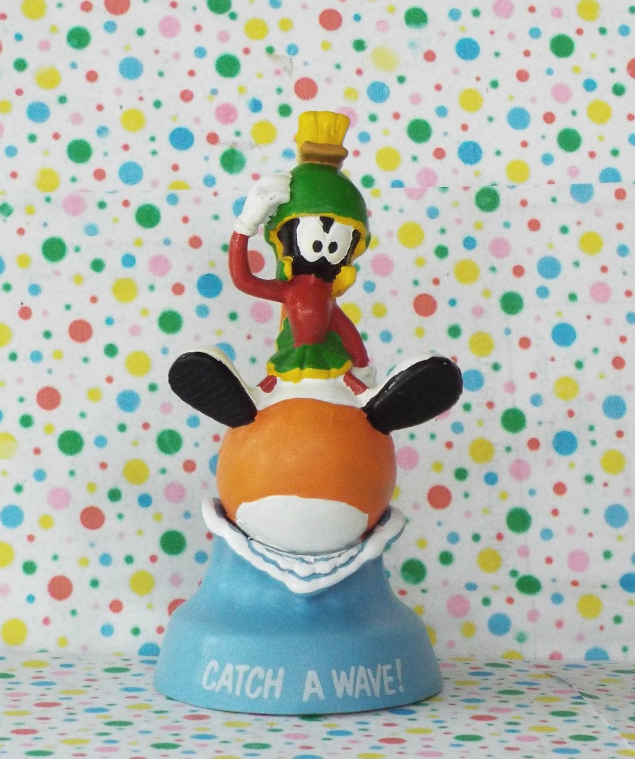 """Marvin the Martian """"Catch A Wave"""" Figurine"""