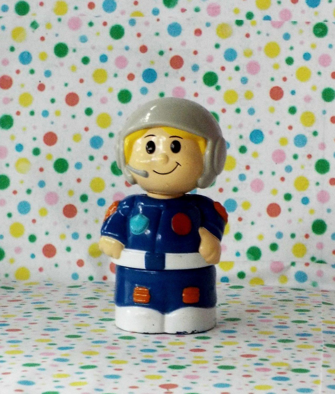 MegaBlocks Mega Bloks Block Lil' Copter Pilot Figure Part