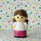 MegaBlocks Mega Bloks Block Lil' Pink School Bus Girl Figure Part