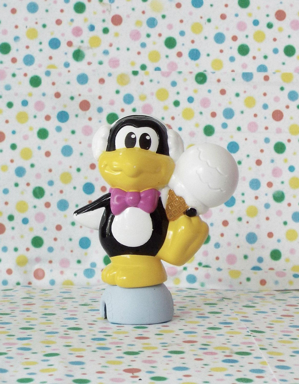 *7/15*SOLD~Fisher Price Pop-Onz Blocks Animal Friends Penguin Figure Part